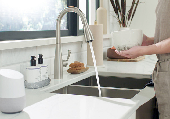 U by Moen Smart Faucet an Assistant for Your Kitchen