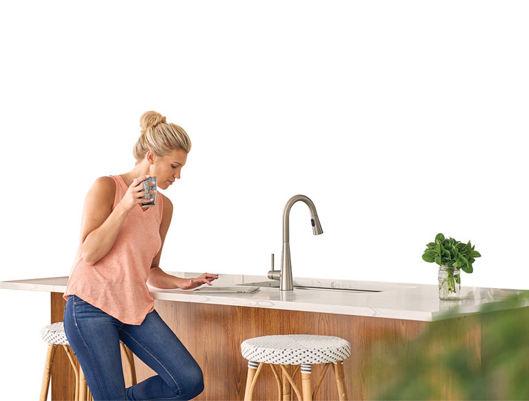 Sign up to receive Moen email for trends, tips, maintenance reminders and future discounts