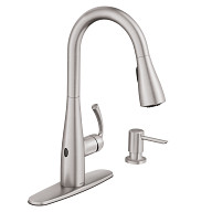 Essie Spot Resist Stainless One-Handle Kitchen Faucet
