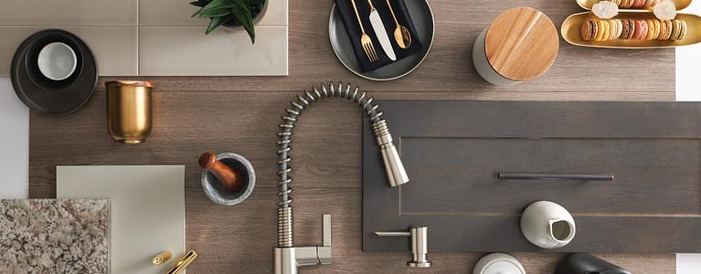 Irvine Kitchen Flatlay