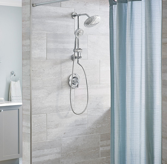 For a truly excellent shower experience install a rainshower showerhead