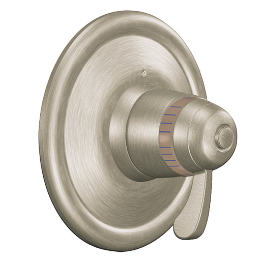 Moen Brushed nickel ExactTemp® valve trim