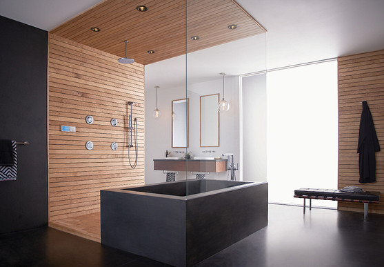 Spacious Modern Luxury Bath and Shower