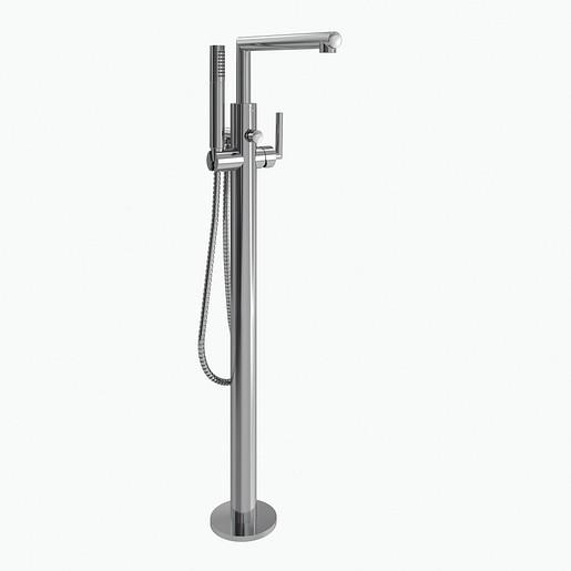 Arris Chrome One-Handle Tub Filler including Handheld Shower