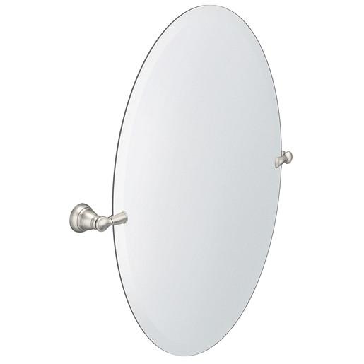 Banbury Brushed nickel Mirror