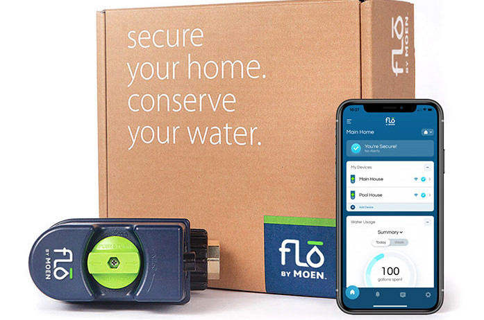 Get Flo by Moen Smart Water Shutoff