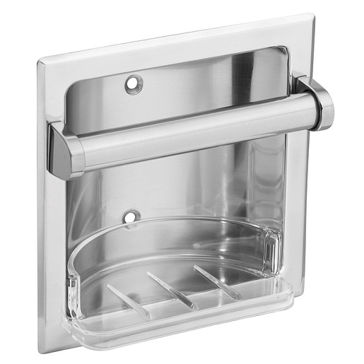 Donner Commercial Chrome soap holder