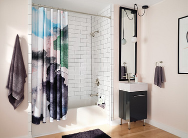 Hang Bathroom Accessories and Mirrors Perfectly Straight Every Time