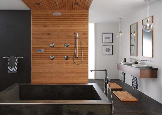 Install a U by Moen Smart Shower for modern convenience