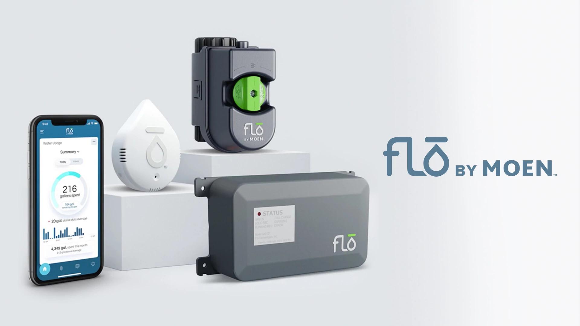 Flo by Moen Water Security