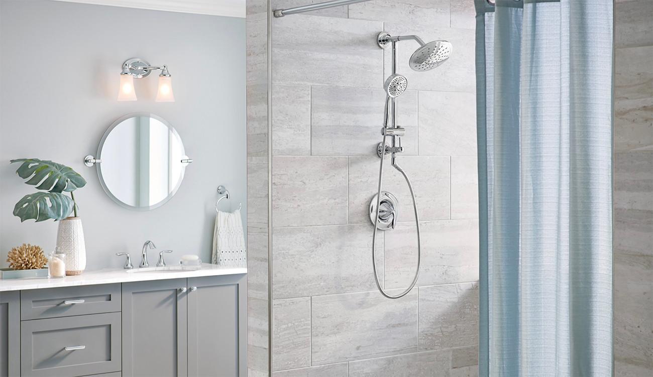 Transitional Shower Room