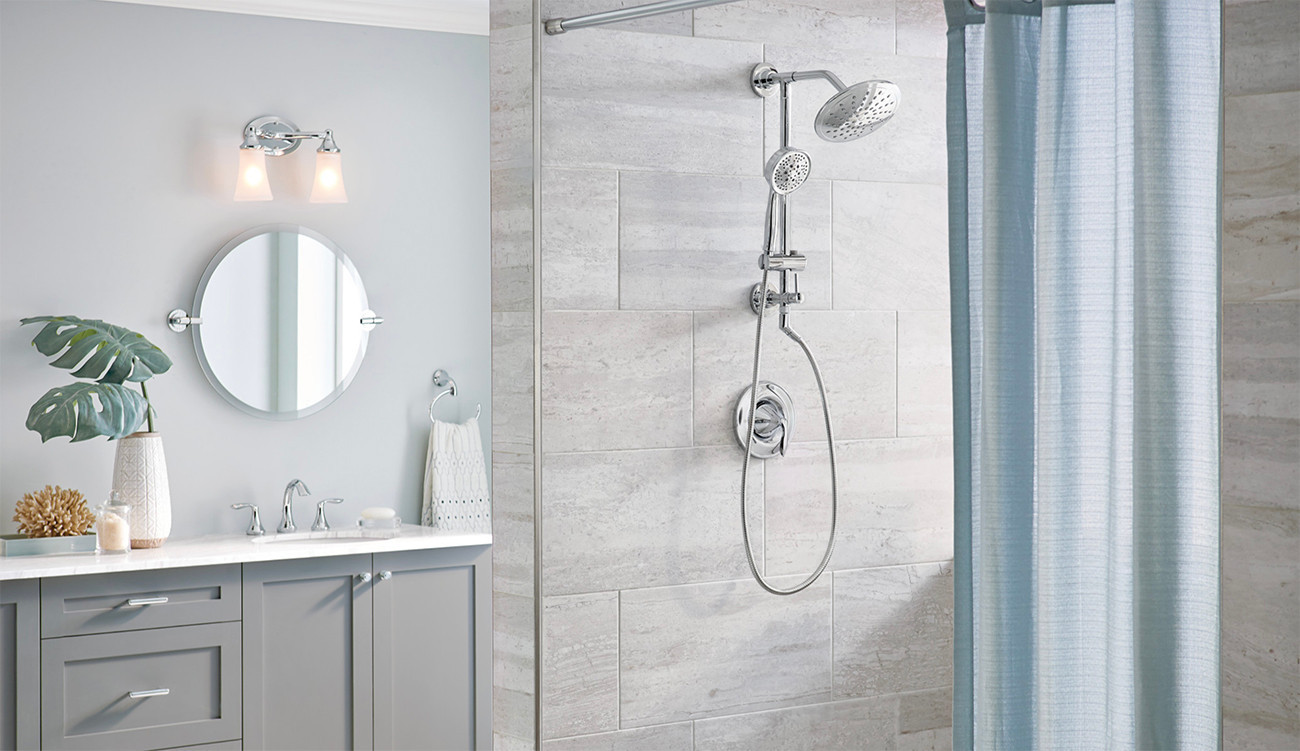 Transitional Shower Room