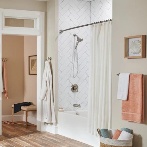 The Curved Shower Rod Image