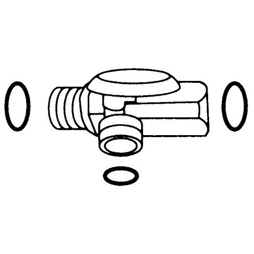 "Commercial Moen Chrome Shower Arm Diverter 1/2"" Connection IPS Connection Type (2.5""L x 2""W x 3""H)"