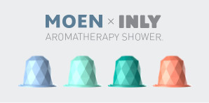Moen Aromatherapy Handshower with INLY™ Technology