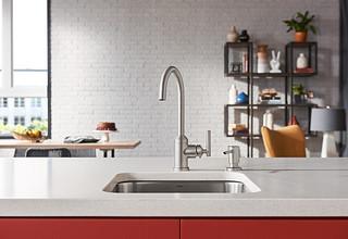 Moen 87593SRS Spot Resist Stainless Kitchen Faucet