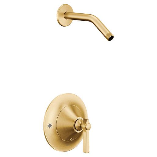Flara Brushed gold Moentrol® shower only
