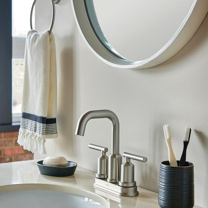 Center Set Bathroom Faucet