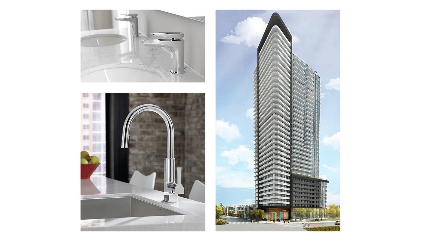 The Met Condominiums Vaughan Ontario Room Images