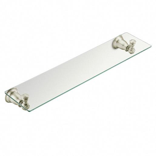 Kingsley Brushed nickel Vanity Shelf
