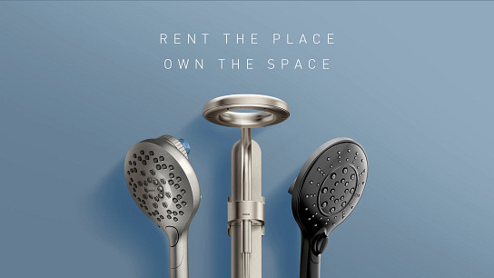 Rent the place. Own the space.