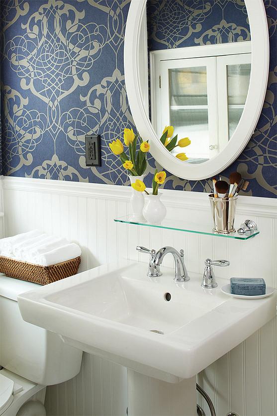 Wallpaper Vanity Accessories