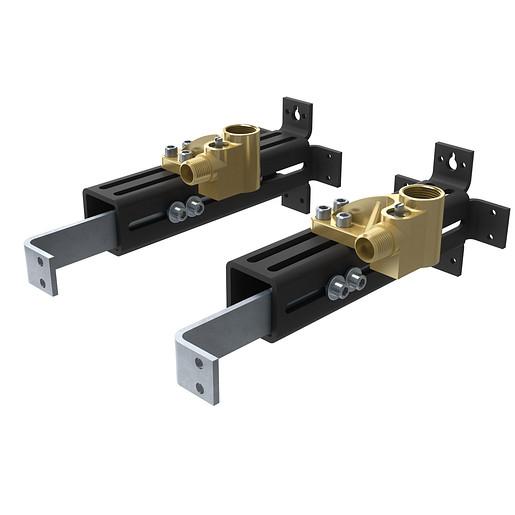 Moen Double Riser Floor Mount Tub Filler Mounting System