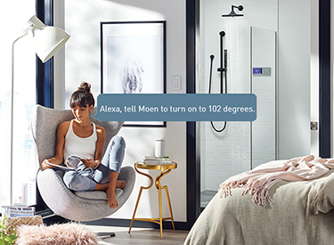 U by Moen Voice Activated Shower