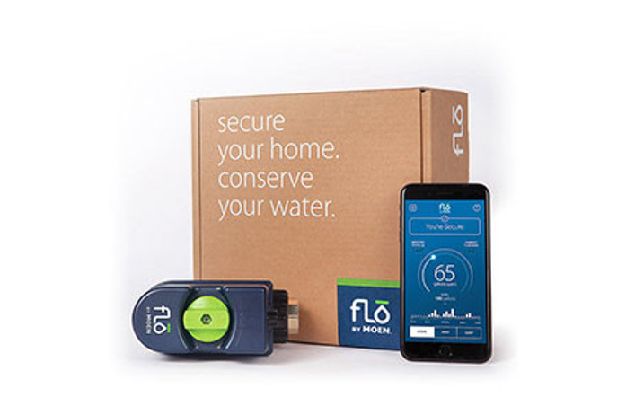 Get Flo by Moen Water Damage Prevention System