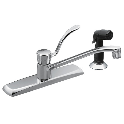 M-BITION Chrome one-handle kitchen faucet