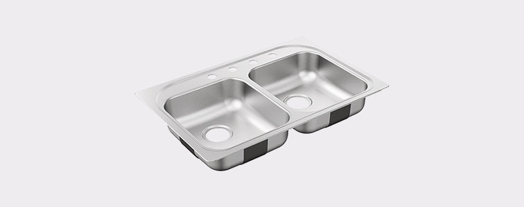 Moen Standard Sink Shape