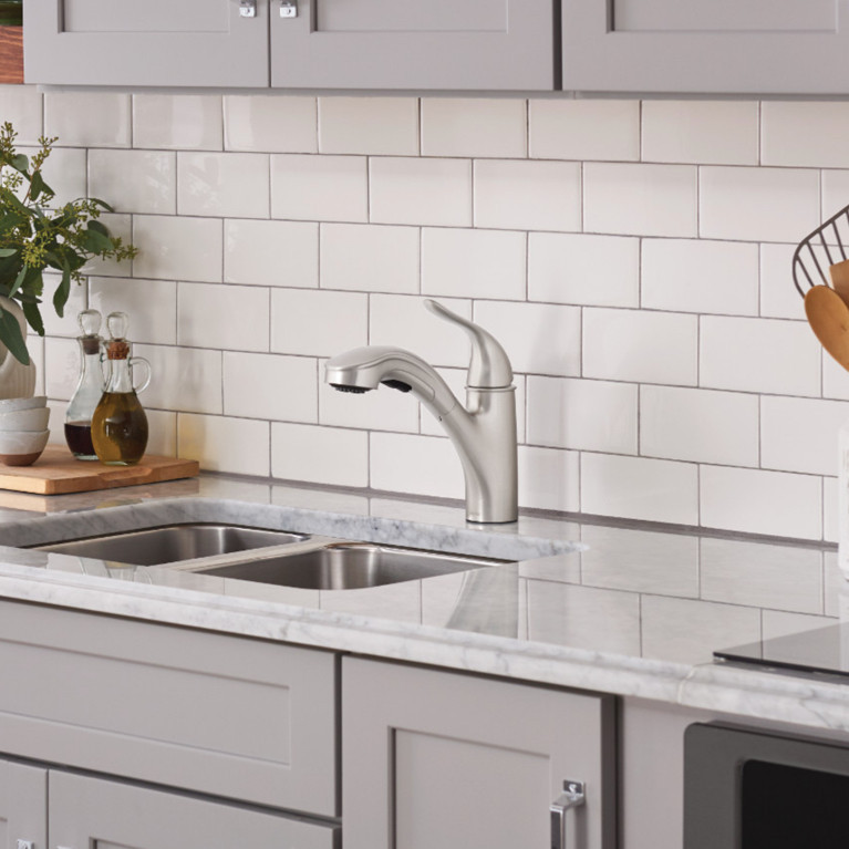 Low Arc Kitchen Faucets