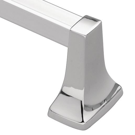 """Contemporary Chrome 18"""" Towel Bar"""