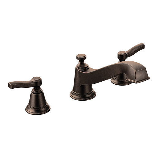 Rothbury Oil rubbed bronze Two-Handle Low Arc Roman Tub Faucet
