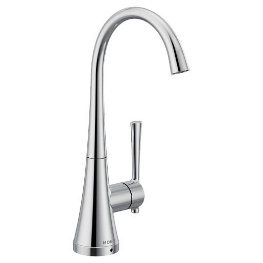Moen Chrome one-handle high arc single mount beverage faucet
