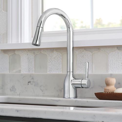 Explorer les robinets de cuisine à un orifice