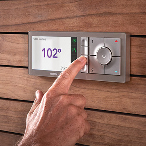 Digital Shower Control: Bringing Technology to the Bathroom