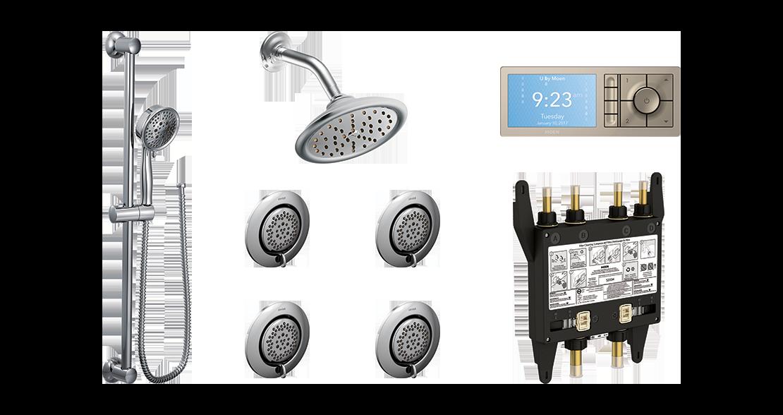 Shower Layout Configuration Option 1