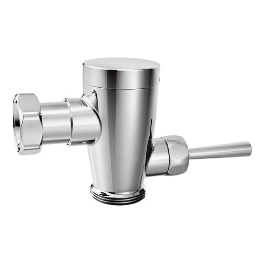 """M-DURA Chrome manual flush valve 3/4"""" urinal retro fit"""