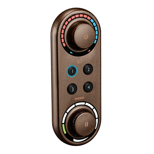 Moen Oil rubbed bronze shower digital control