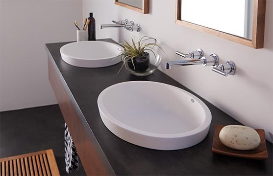 Bathroom Remodel Wallmounted Sink Faucets