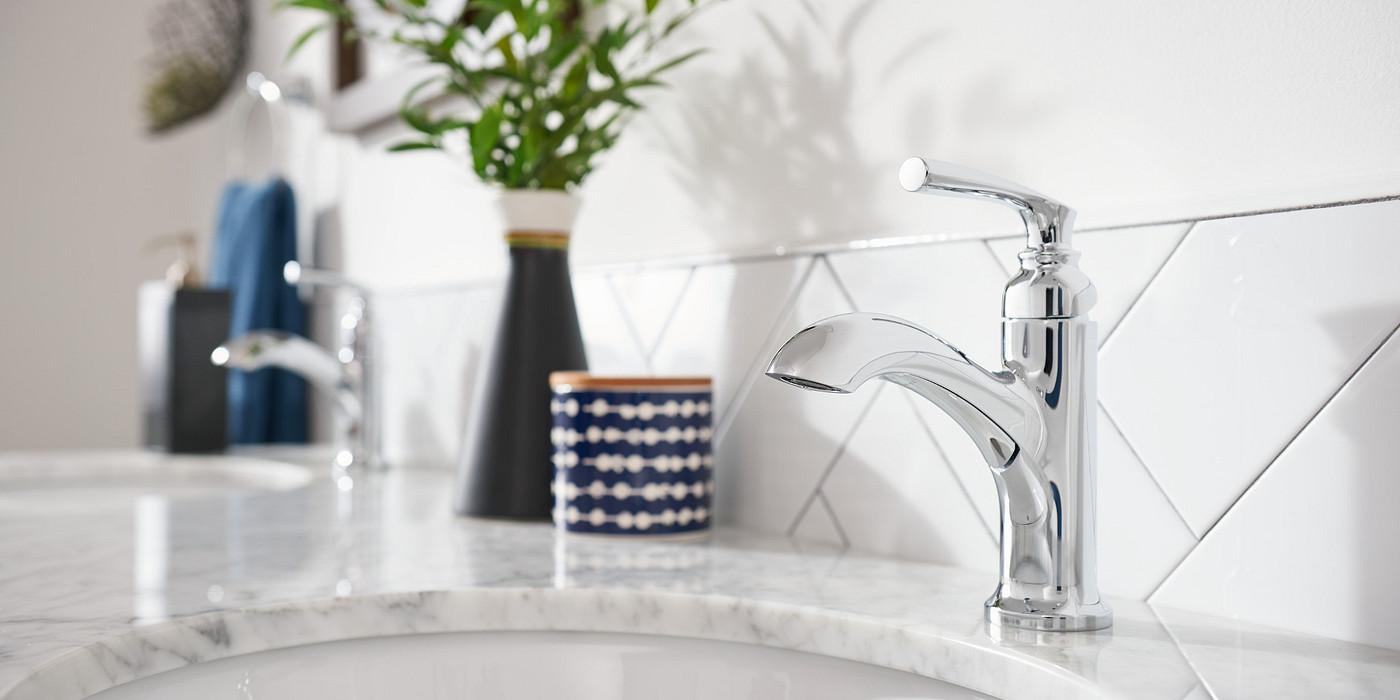 Bathroom Chrome Faucets