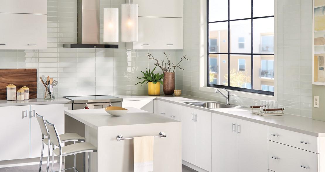 Method Chrome One-Handle Pullout Kitchen Faucet 7585C