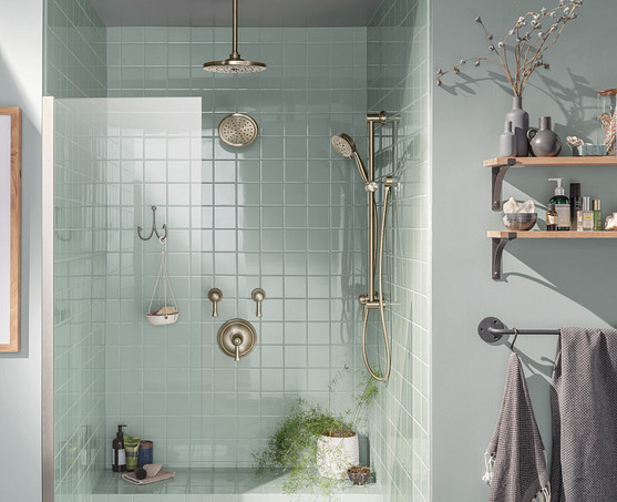 Contain clutter and keep your bathroom organized