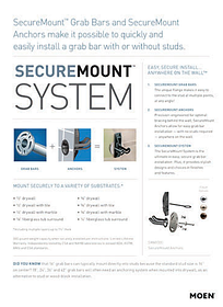 SecureMount™ System: Easy, Secure Install Anywhere On The Wall