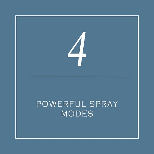 Powerful Spray Modes