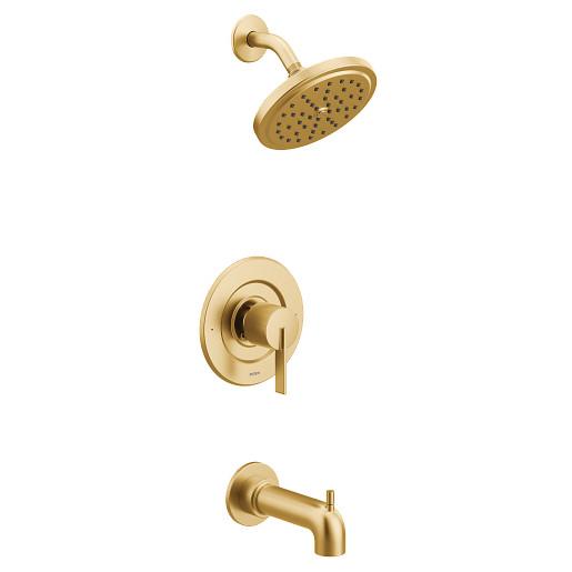 Cia Brushed gold Posi-Temp® tub/shower