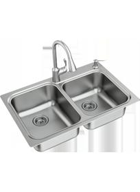 Combination Faucet Sinks