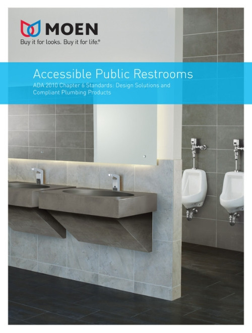 Accessible Public Restrooms Brochure
