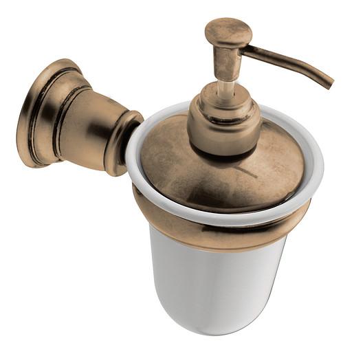 Kingsley Antique bronze soap/lotion dispensers